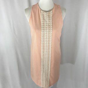 London Times Seersucker Sleeveless Dress